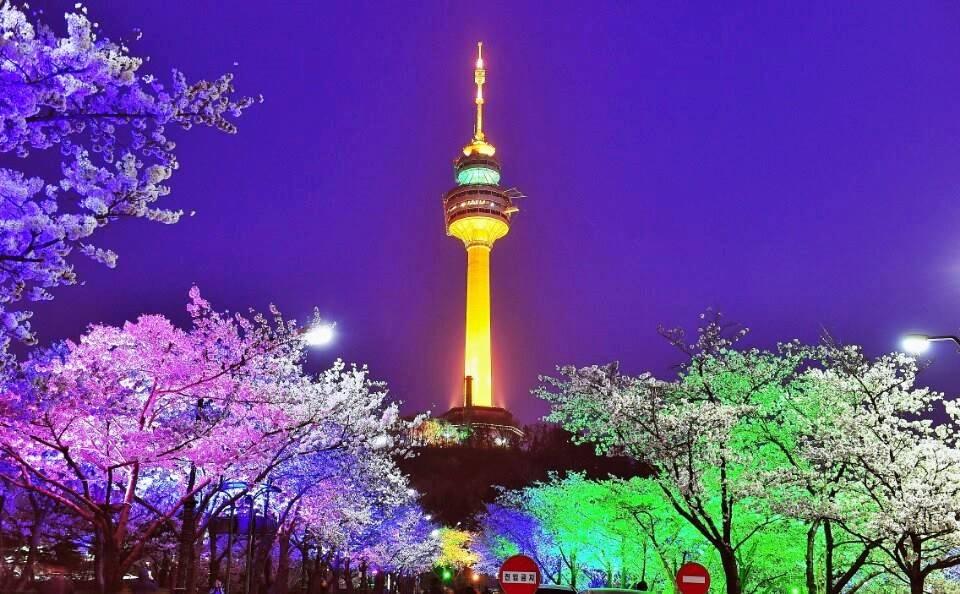 Bildergebnis für Seoul Tower